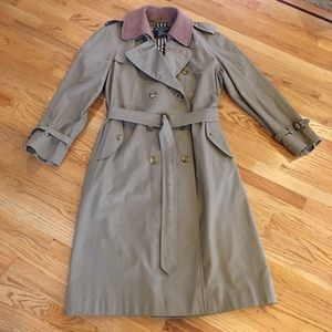 Burberrys Trench Coat w/ Removeable Liner 44XL